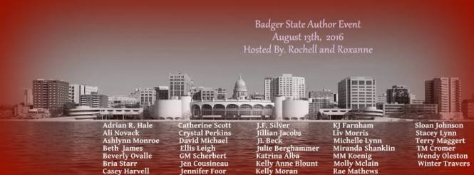Badger State Author Event