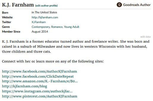 Goodreads Profile