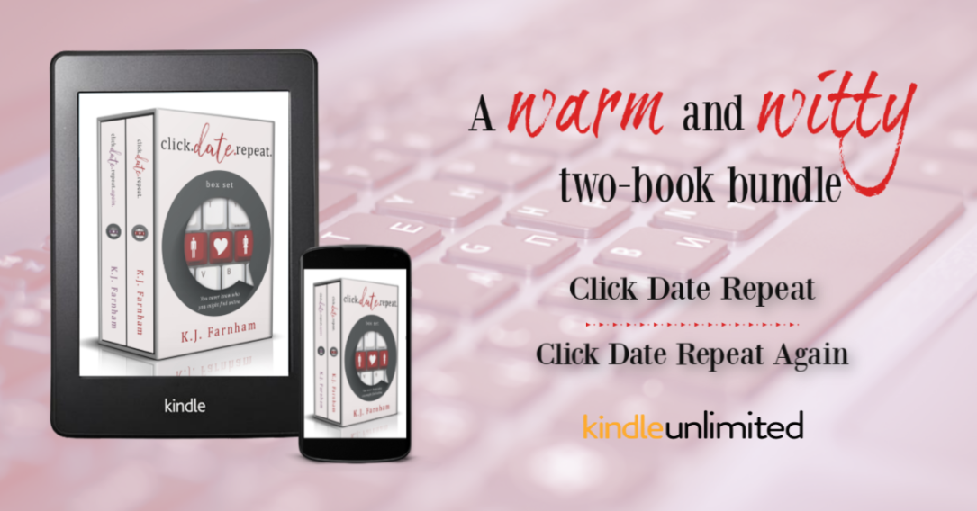 Click Date Repeat Box Set KU Promo Graphic